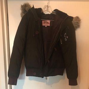 Juicy couture winter coat size medium